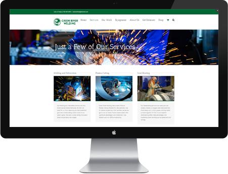 Green River Welding Website